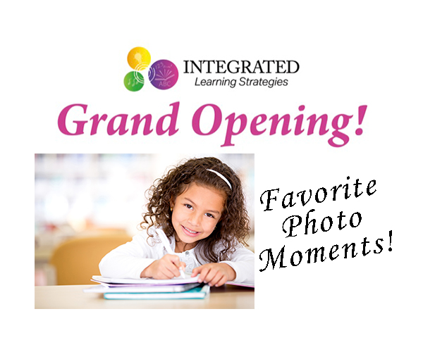 Grand Opening Photo Moments