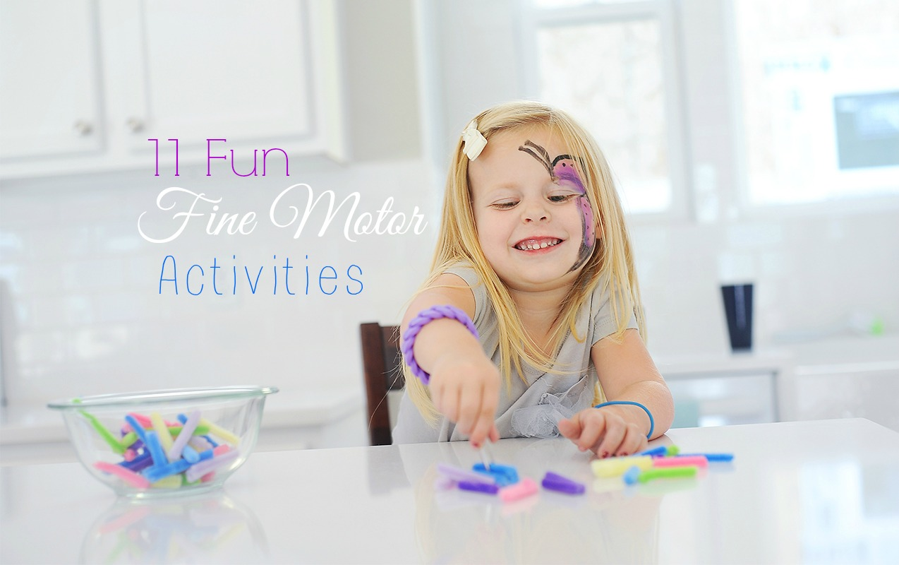 Fine Motor Activities to Jump Start Learning
