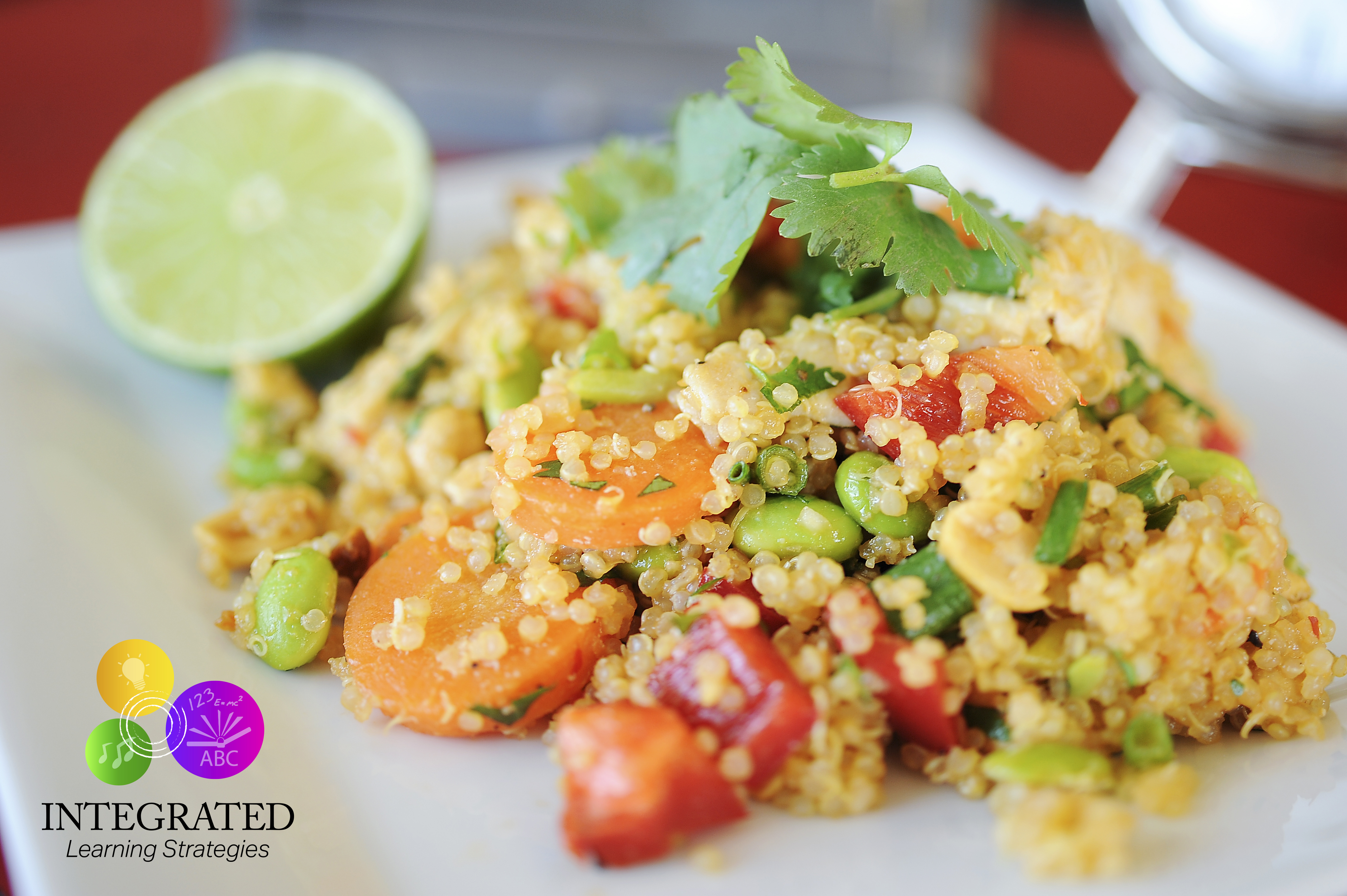 Nutrition Week: Thai Chicken Quinoa Salad for Young Learners