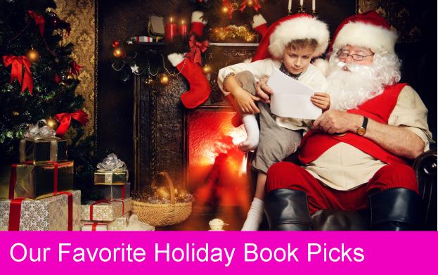 holiday books, reading
