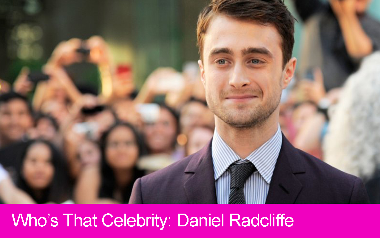 Who's that Celebrity: Daniel Radcliffe