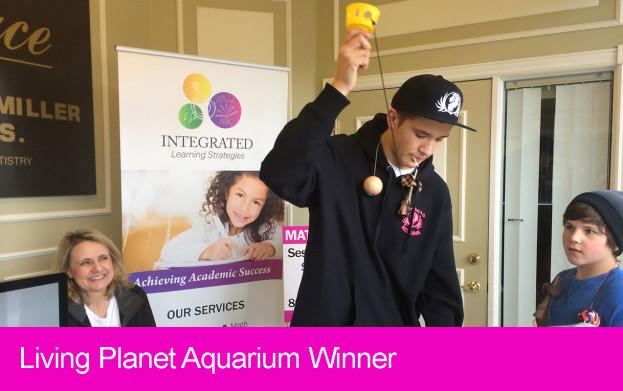 kendama, winner, living planet aquarium