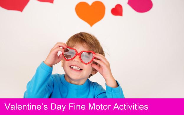 valentines day, fine motor, kids activities