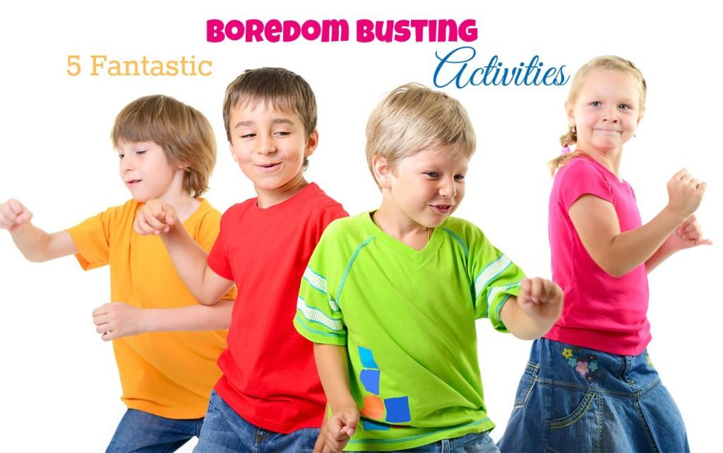 5 Fantastic Boredom Busting Activities for Kids | ilslearningcorner.com