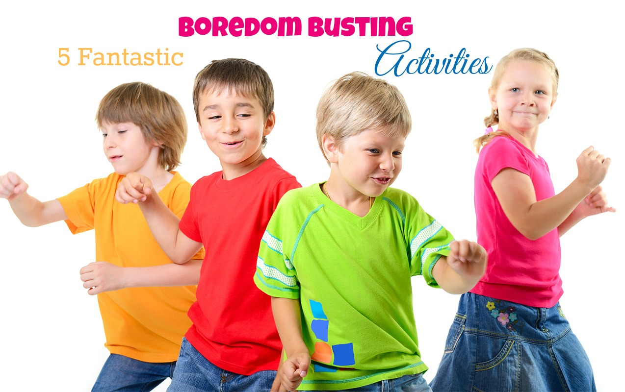 5 Fantastic Boredom Busting Activities for Kids | ilslearningcorner.com
