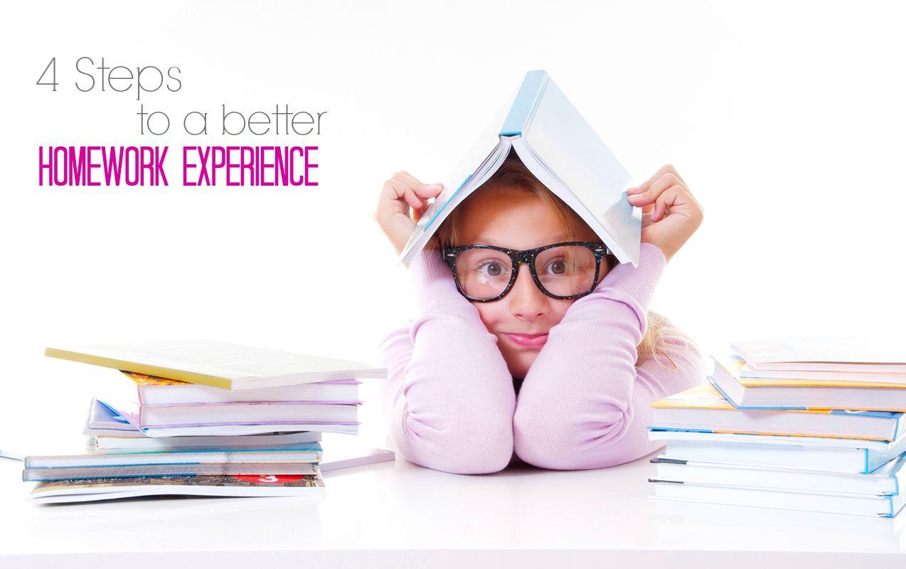4 Steps for a Better Homework Experience | ilslearningcorner.com #homework