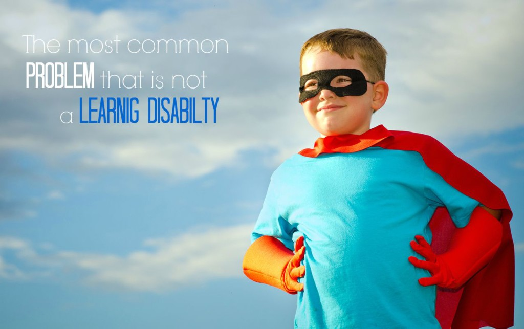 The Most Common Problem that is Not a Learning Disability - Self-esteem | ilslearningcorner.com #selfesteem
