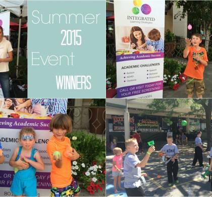 Summer 2015 Event Winners Announced