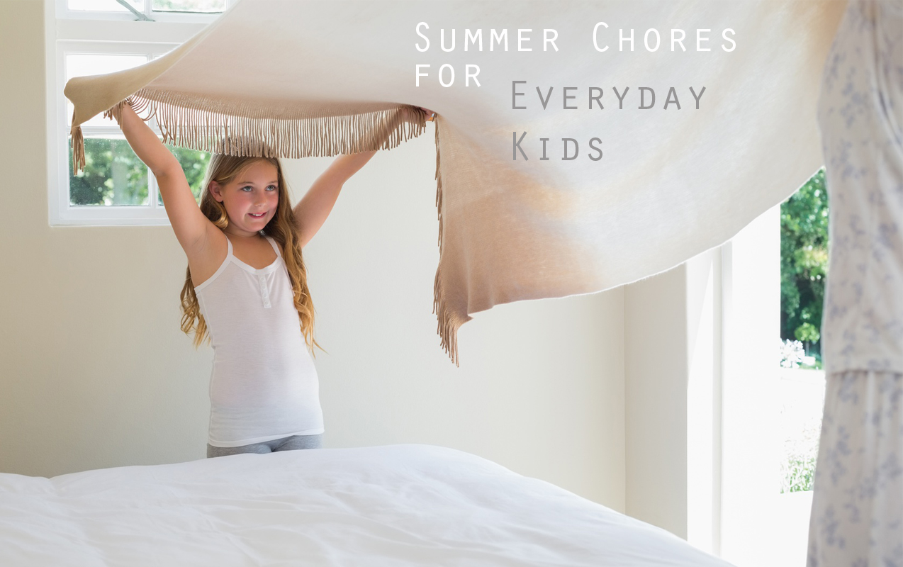 15 Summer Chores for Everyday Kids