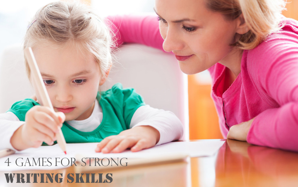 4 Fun and Simple Games to Build Strong Writing Skills | ilslearningcorner.com #writing