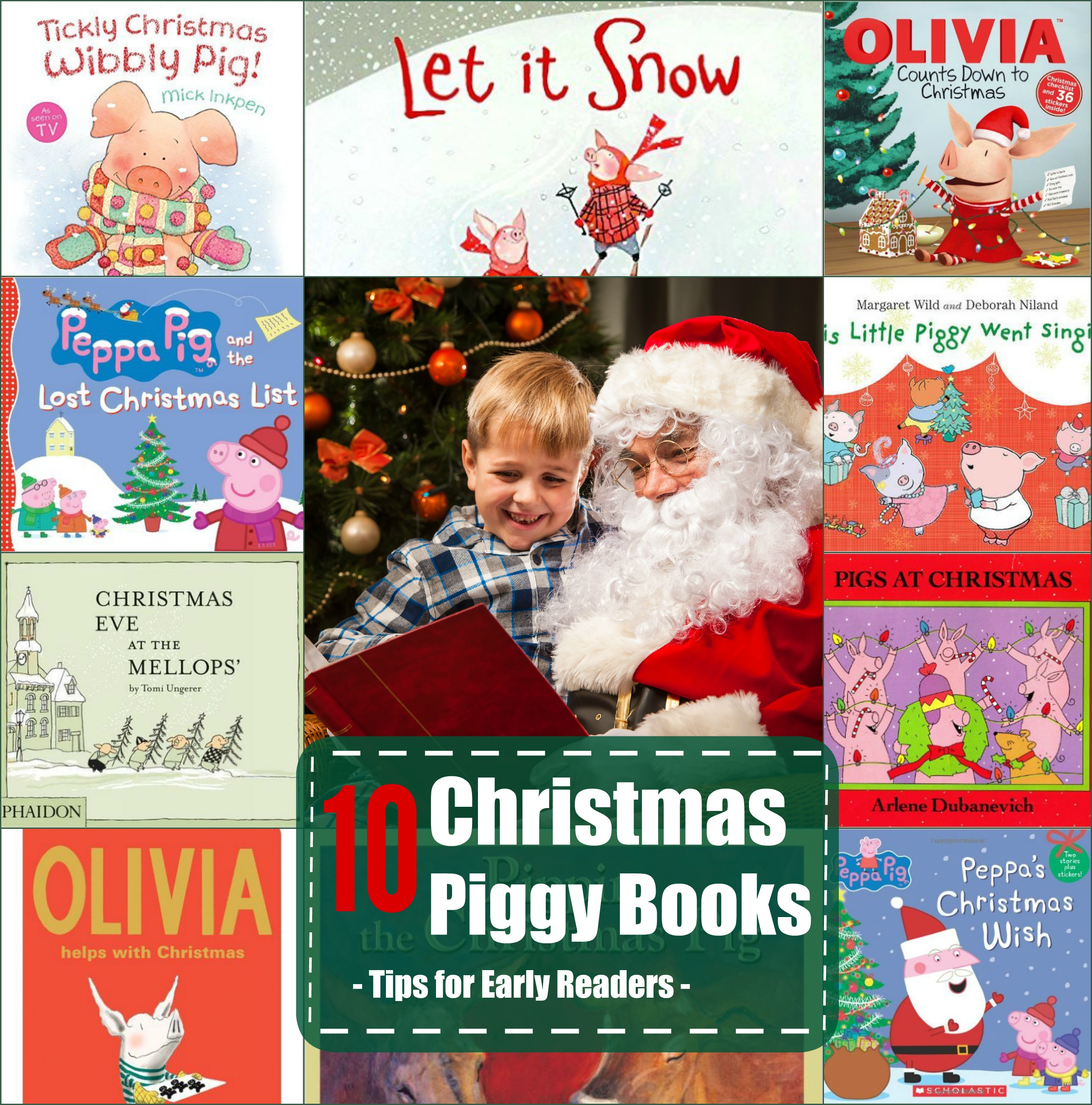 Help With Christmas.Our Favorite Christmas Books To Help Your Child Read
