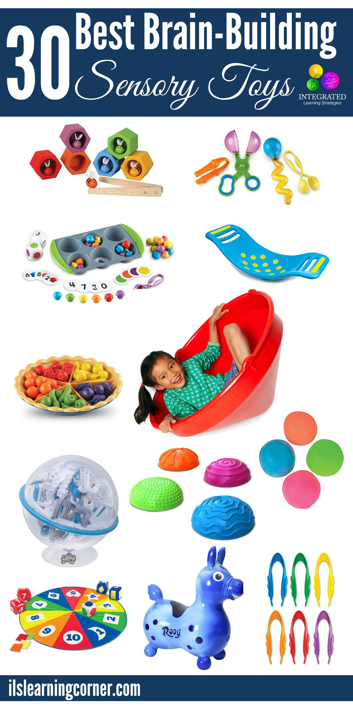 Brain Development Toys : Sensory processing brain building tools for
