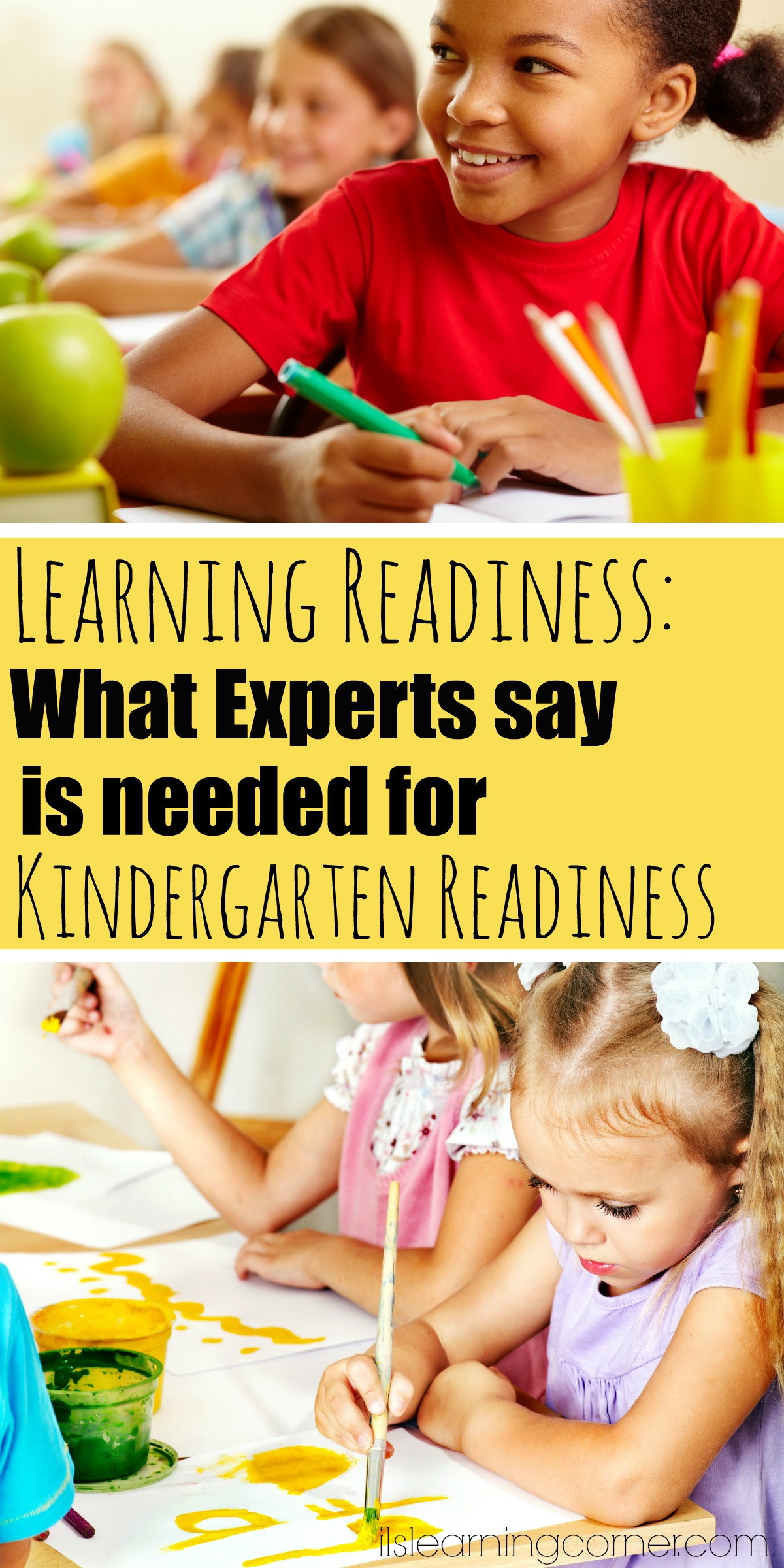 Kinder Garden: IS MY CHILD READY FOR LEARNING? What Experts Say Is Really