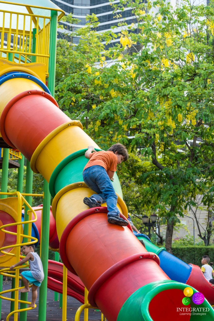 Vestibular System Bring Back Playground Equipment With A