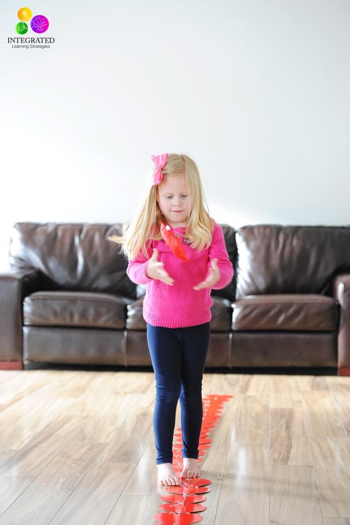 Brian-Building Valentines Activities: Midline Crossing, Fine Motor, Vestibular, Visual Planning | ilslearningcorner.com