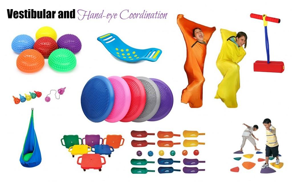 Vestibular and Hand-eye Coordination Toys for Easter | ilslearningcorner.com