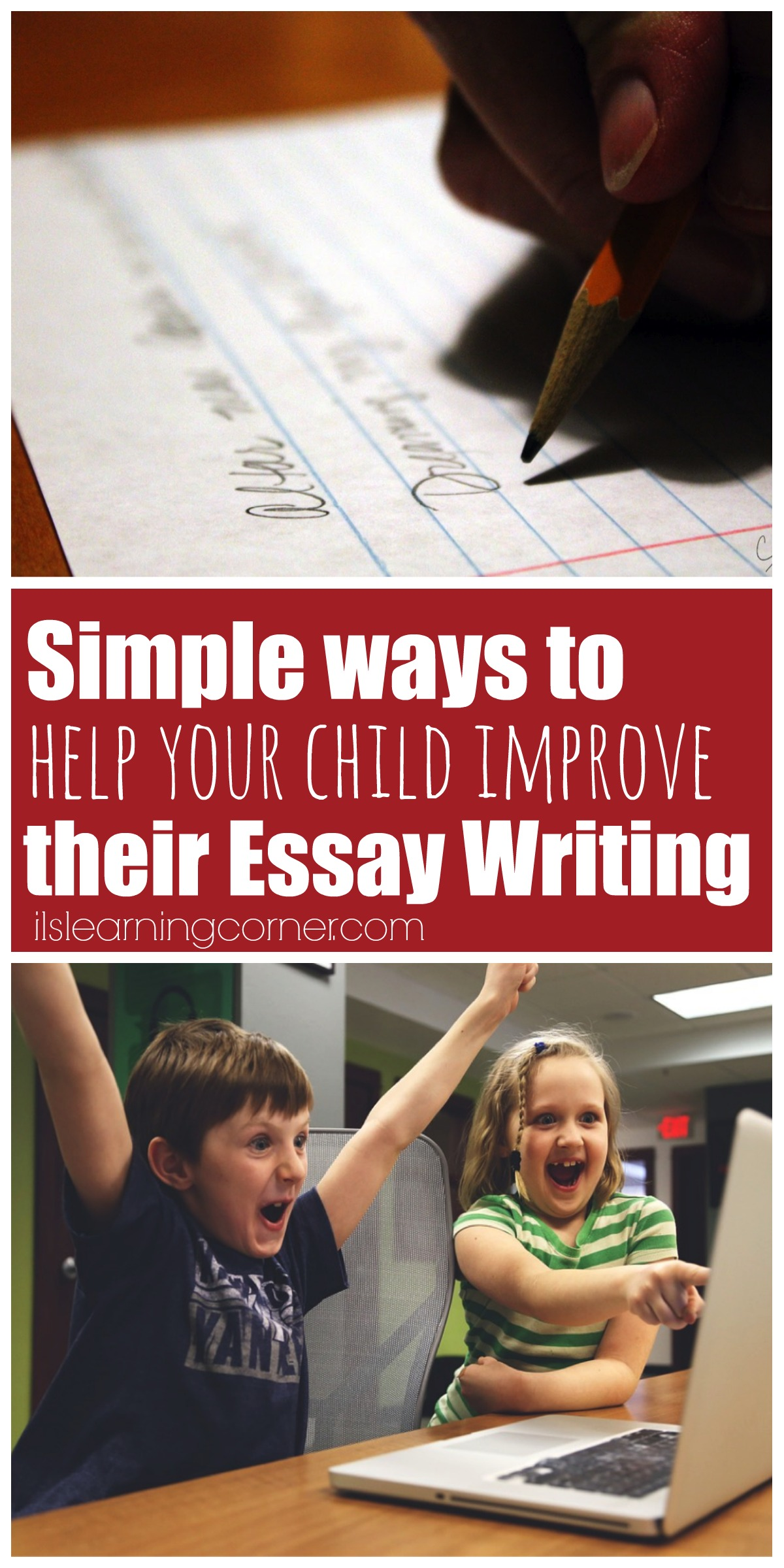 Writing essay your child