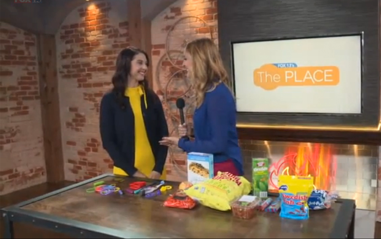 FOX 13's THE PLACE: Find out why chewing on things could help kids focus in school