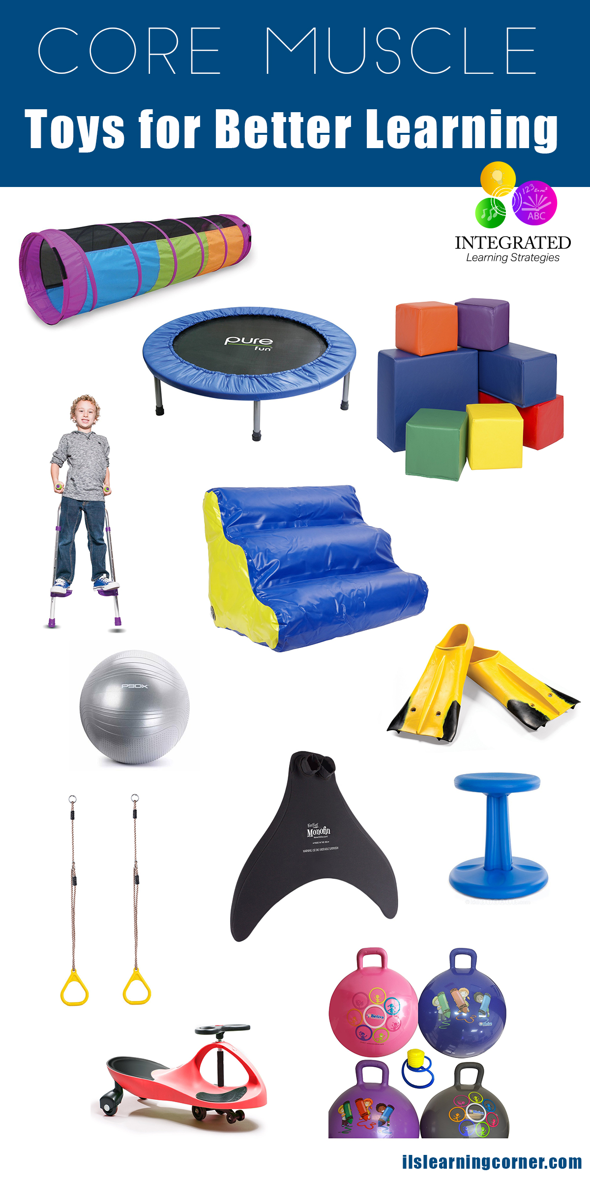 CORE MUSCLE Toys for Building Posture Core Muscle Motor Skills