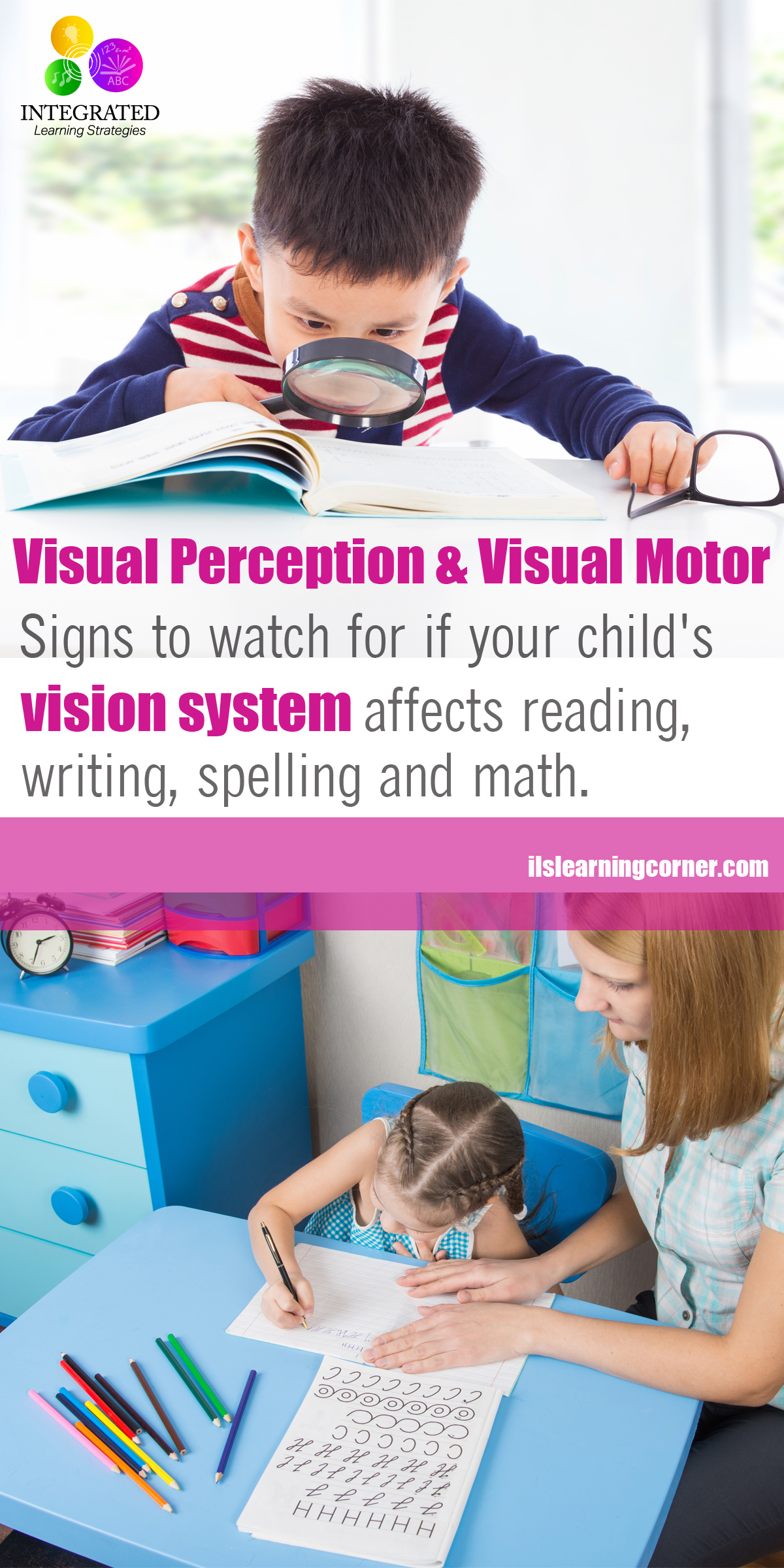 Visual development why poor visual perception skills for Visual motor processing disorder