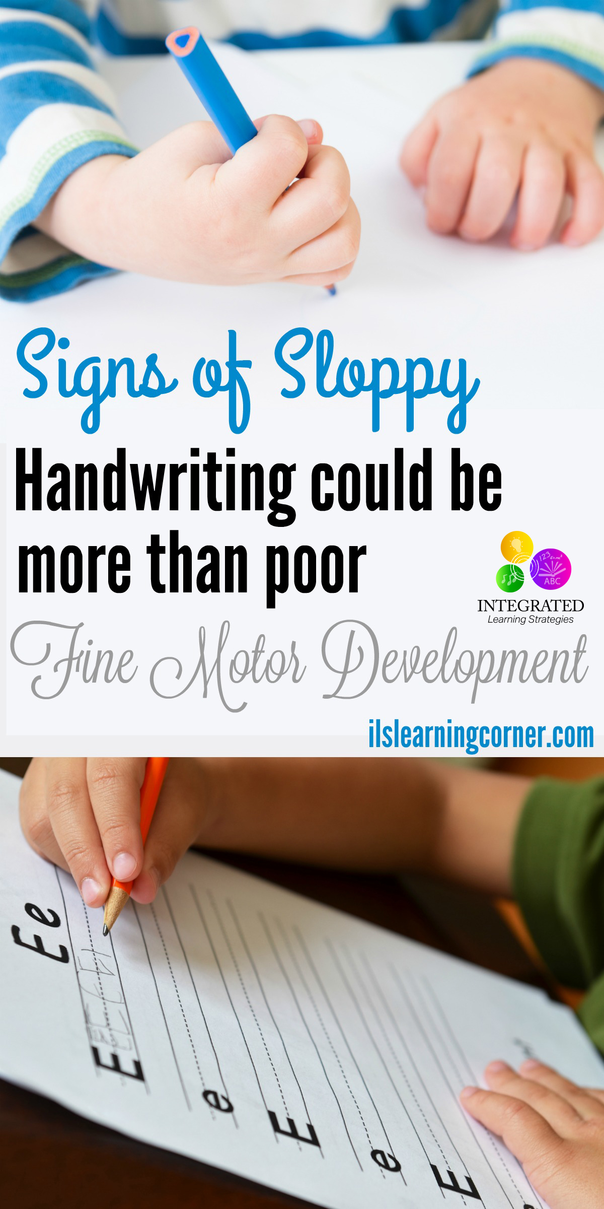 Dysgraphia vs poor hand writing and intelligence