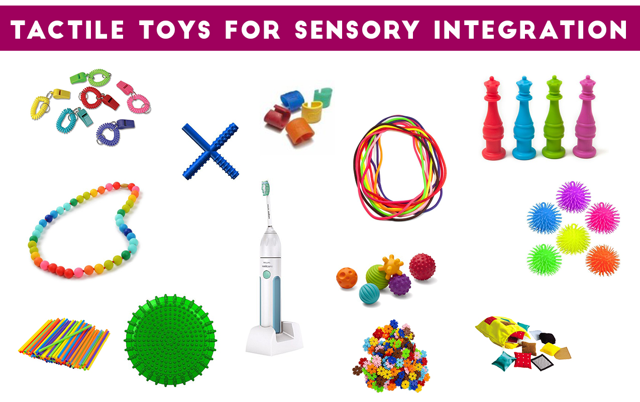 Tactile Toys: Toys for Sensory Defensiveness and Tactile Stimulation