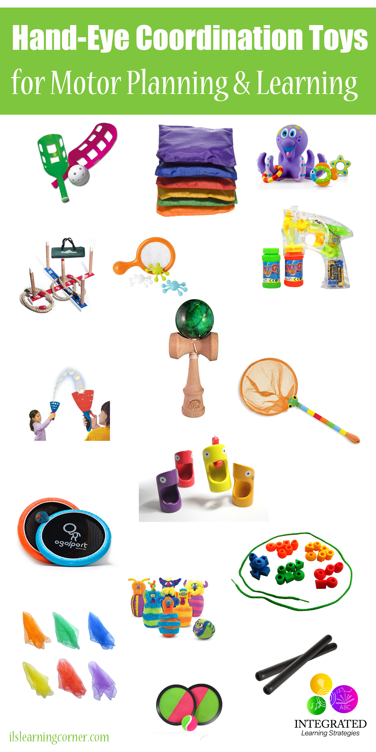 Hand-eye Coordination Toys For Better Motor Planning
