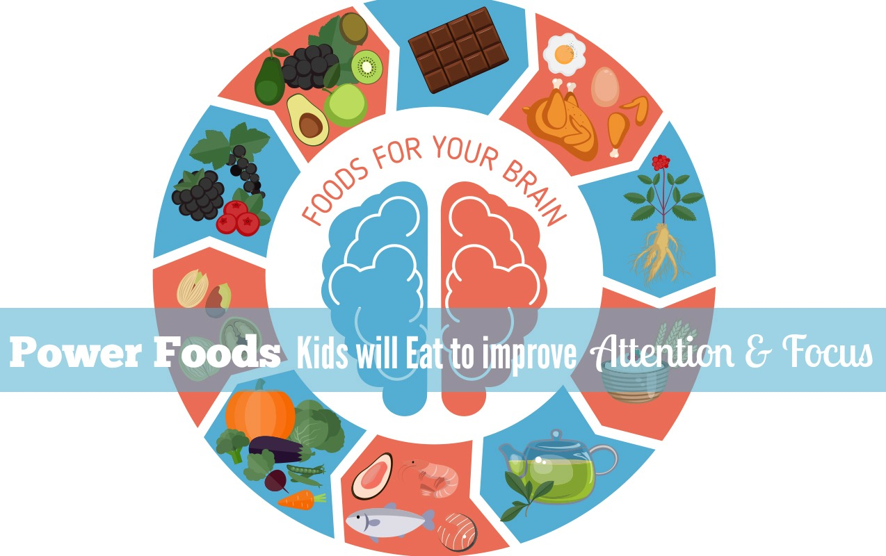 Power Foods Kids will Actually Eat to Improve Attention and Memory in the Classroom