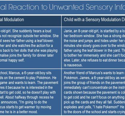 Sensory Modulation: Your Child's Extreme Emotional Reaction to Unwanted Sensory Information