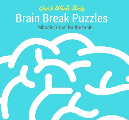 "Brain Breaks: Simple Brain Break Puzzles to ""Spark"" and Awaken the Brain for Higher Learning"