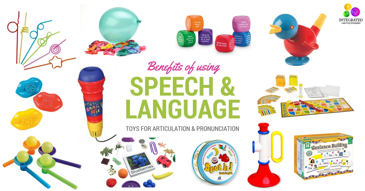 Toys For Language : Speech and language toys for building pronunciation