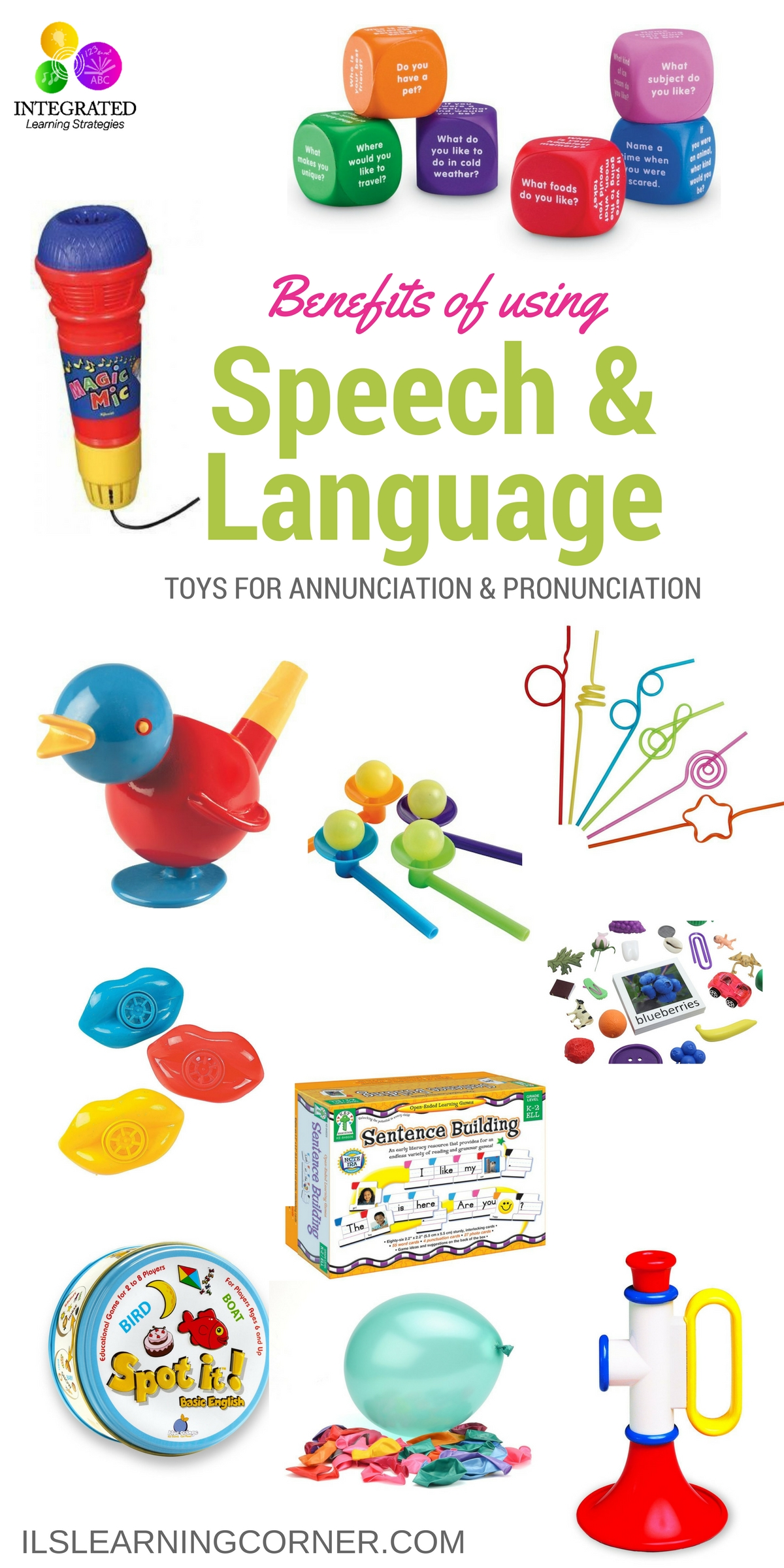 Toys For Speech Development : Speech and language tools for building pronunciation
