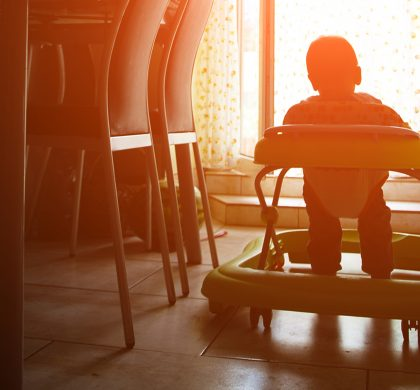 TRAY WALKERS: Studies Show Kids that Use Tray Walkers are Delayed in Mental and Motor Skills
