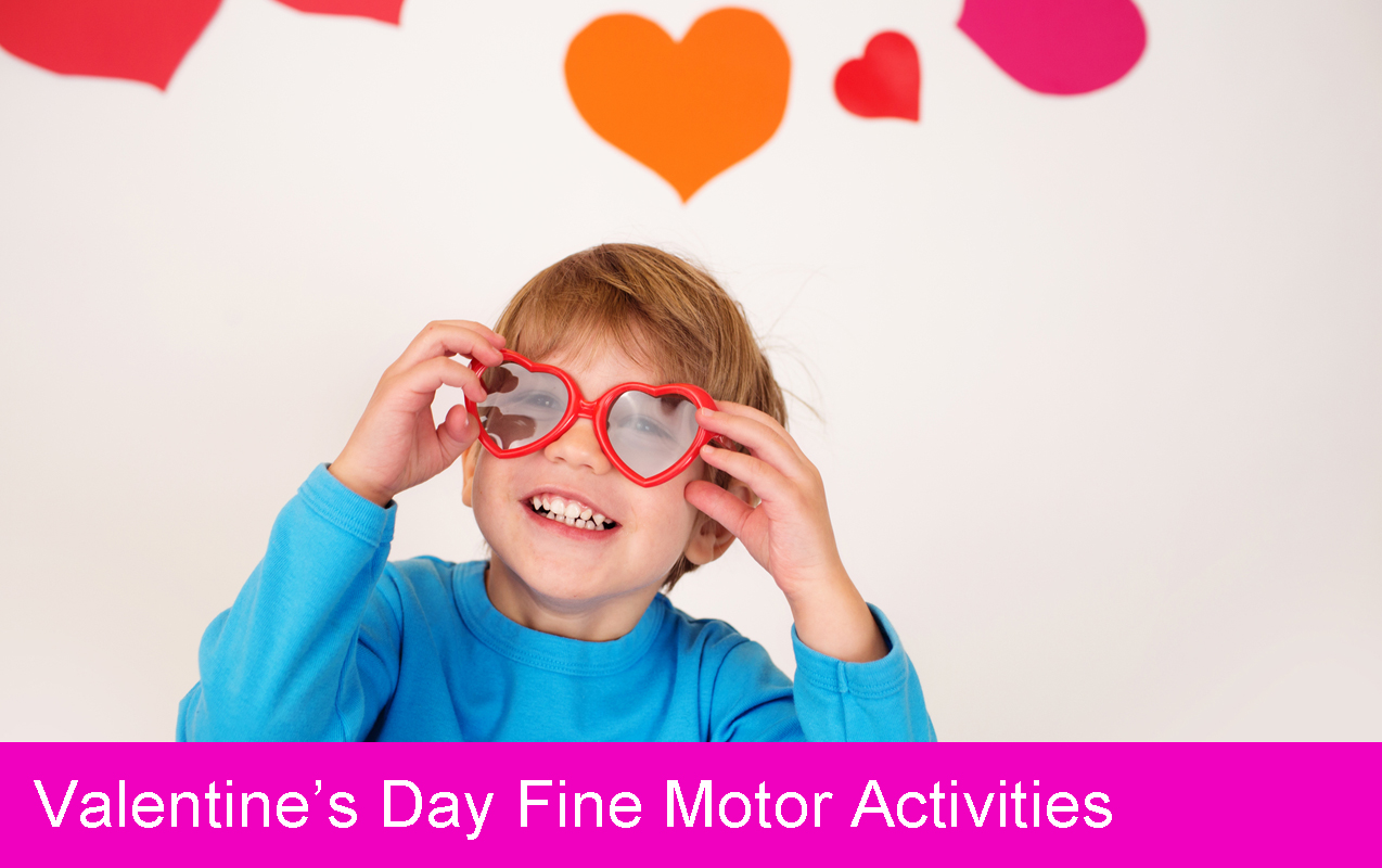Valentines Day, Fine Motor, Kids Activities