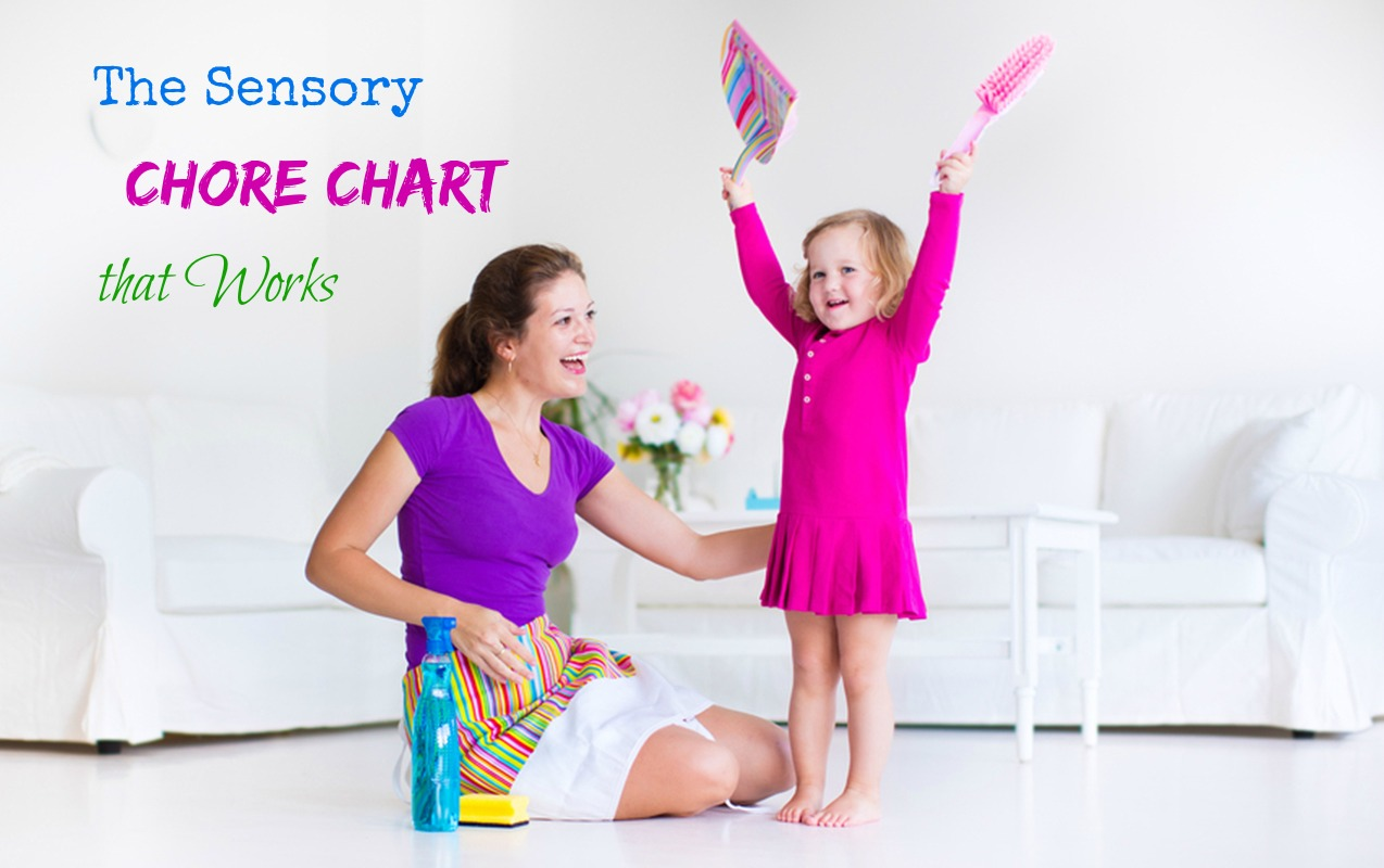The Best Chore Chart for Sensory Sensitive Kids