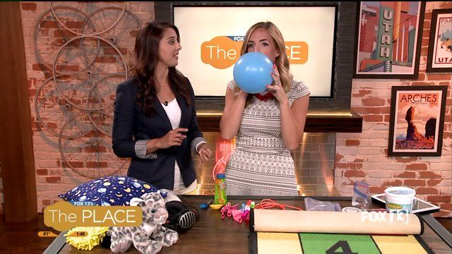 FOX 13's THE PLACE: Sensory Learning Games for Fidgeting, Sensory Integration and Better Learning in the Classroom