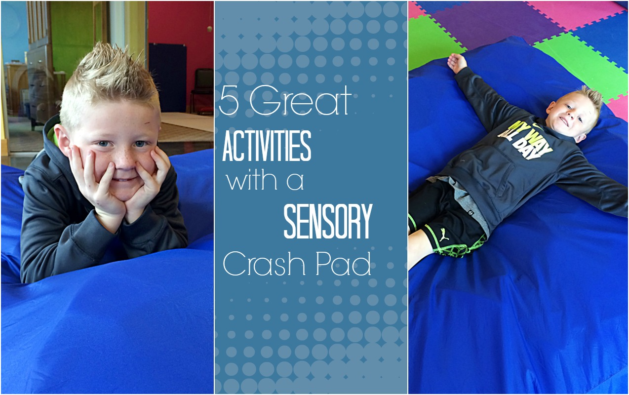 SENSORY CRASH PAD: Calming Benefits and Proprioception Development Kids need from Crash Pads