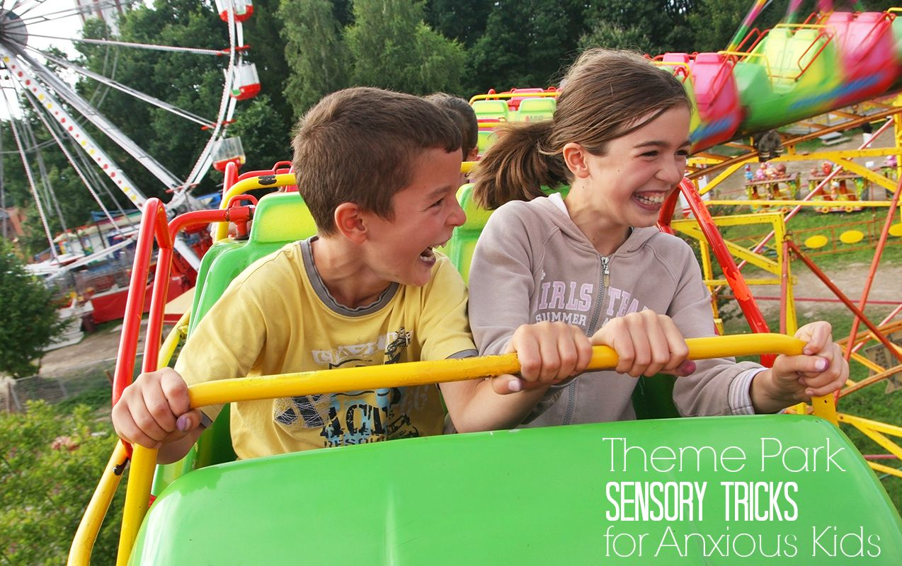 9 Sensory Tricks to Stop Child Anxiety at Family Theme Parks