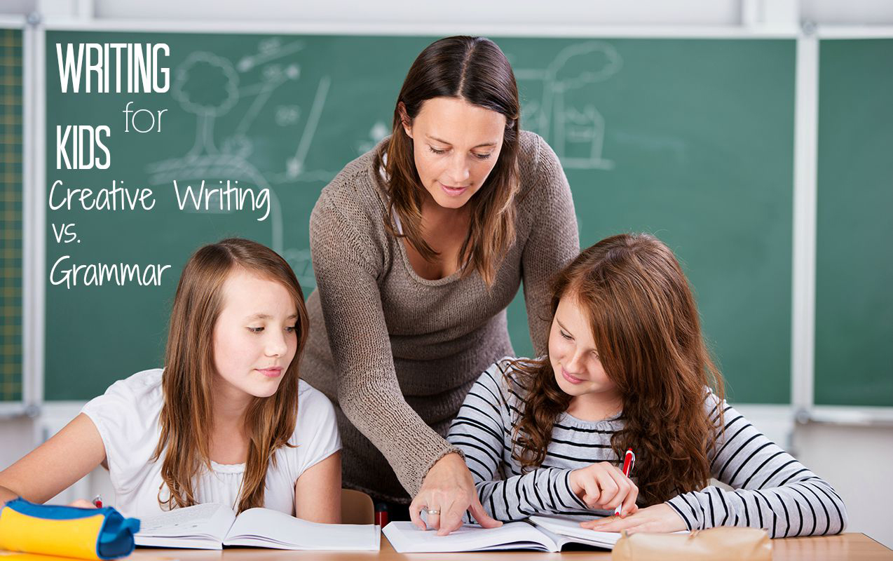 Writing for Kids: Is it better for Kids to focus on Writing Concepts or Grammar?