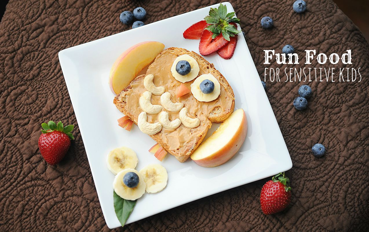 Fun Kid Food to Help Sensory Children with Textures and Nutrition