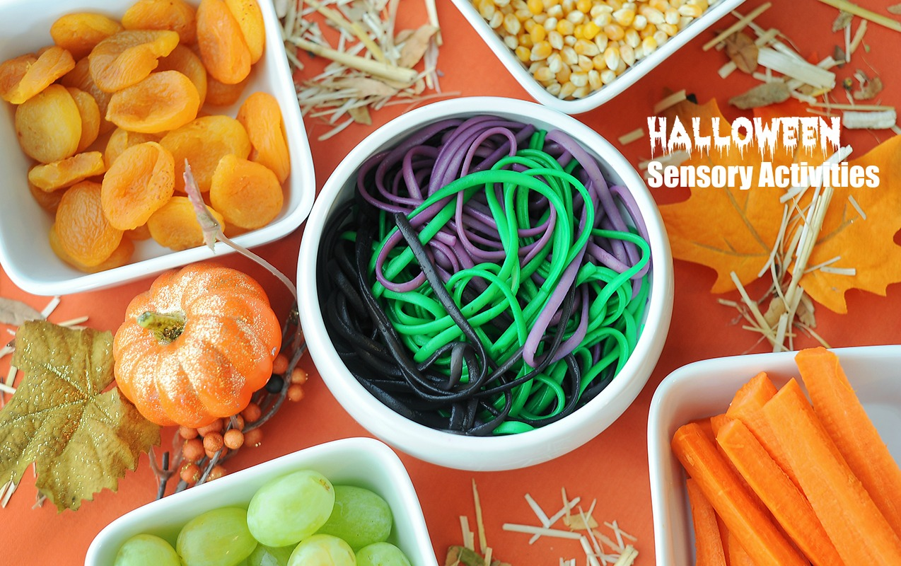 "SENSORY ACTIVITIES: ""Ghoulish"" Halloween Sensory Activities to Calm Sensory Sensitivity"