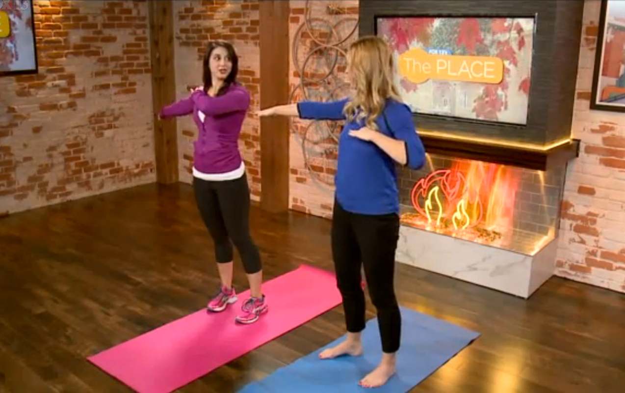 FOX 13's THE PLACE: Crossing the Midline Exercises for Brain and Sensory Integration