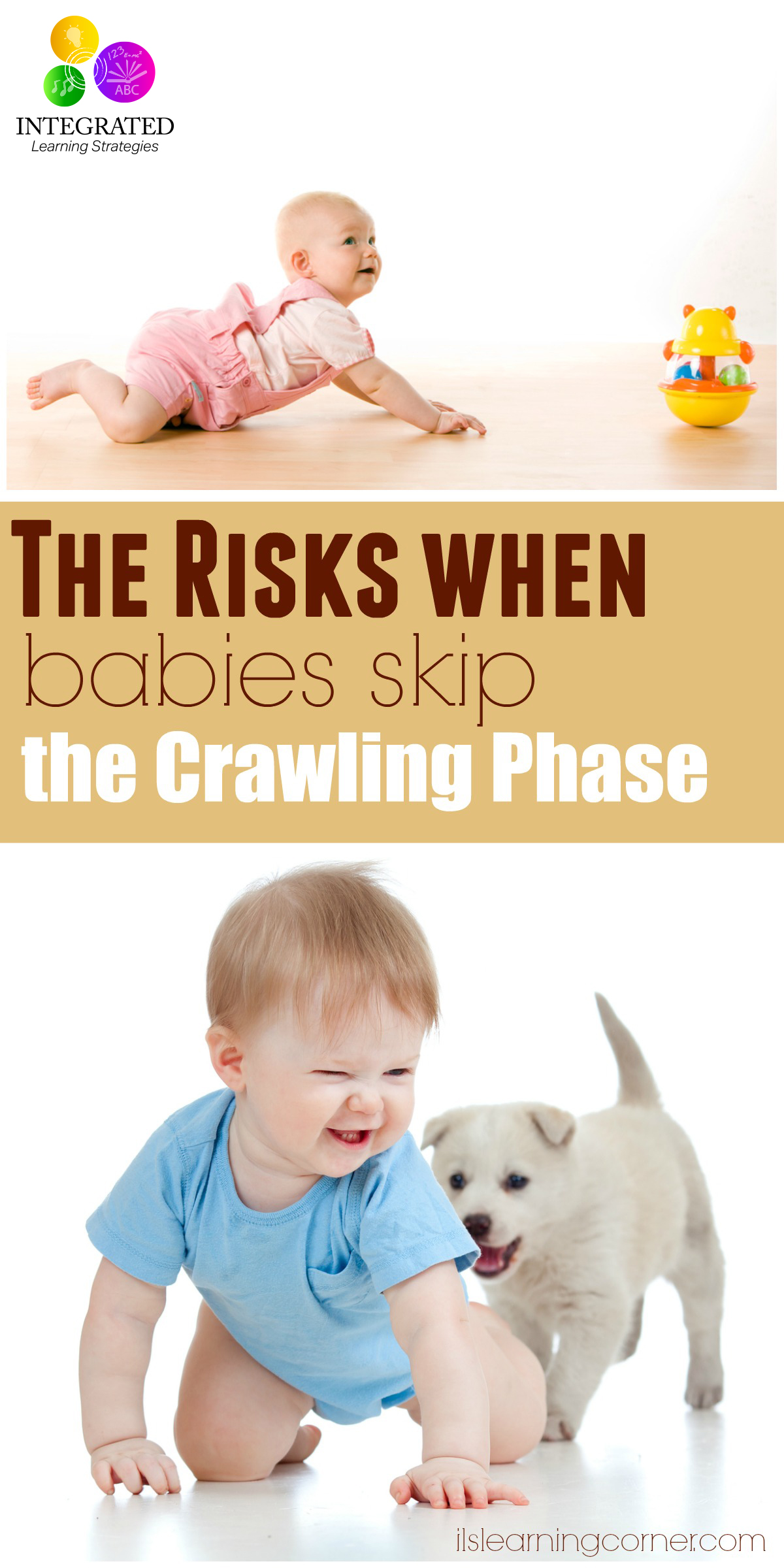 The Learning Risks when Babies Skip the Crawling Phase