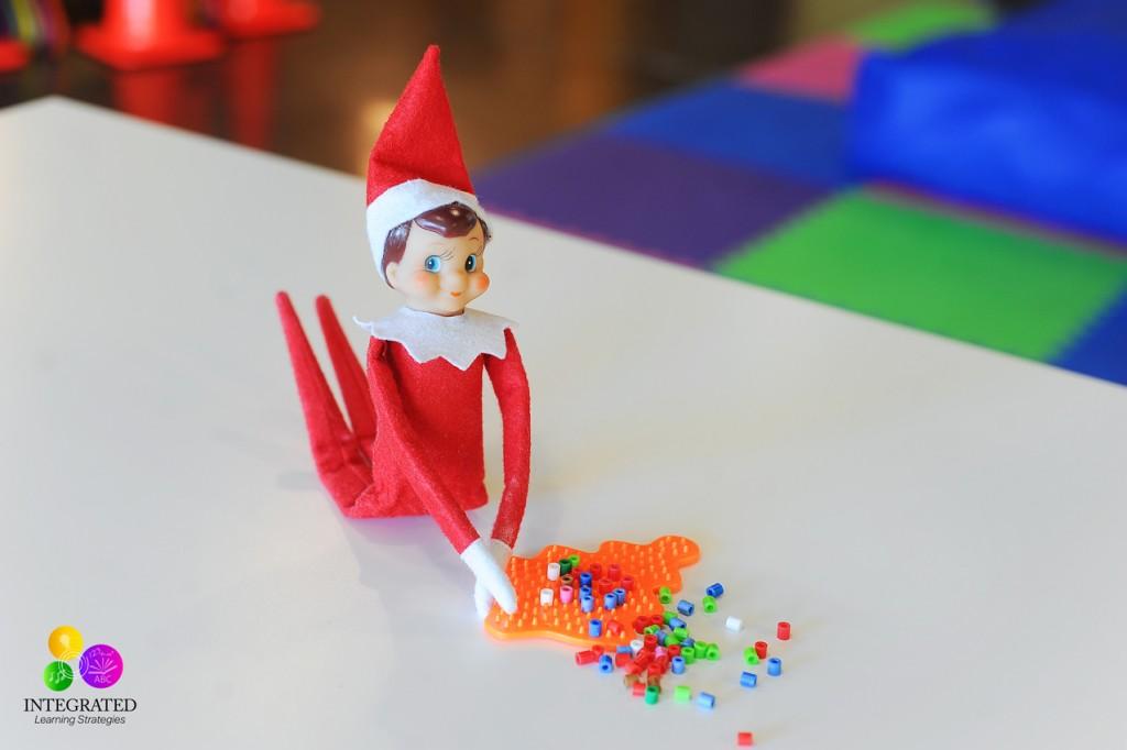 Elf on the Shelf Sensory Series: Helping Your Child's Handwriting and Fine Motor Skills   ilslearningcorner.com