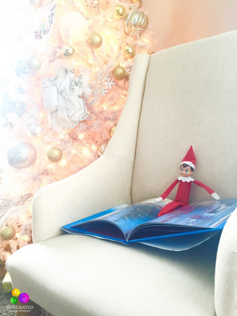 Elf on the Shelf: Sensory Taste, Smell and Sight Activities | ilslearningcorner.com