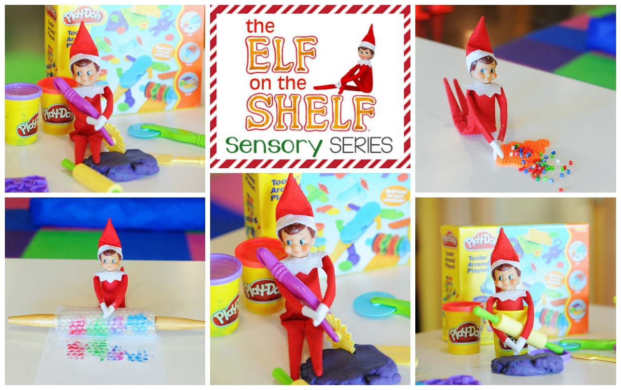 Elf on the Shelf Sensory Series: Helping Your Child's Handwriting and Fine Motor Skills