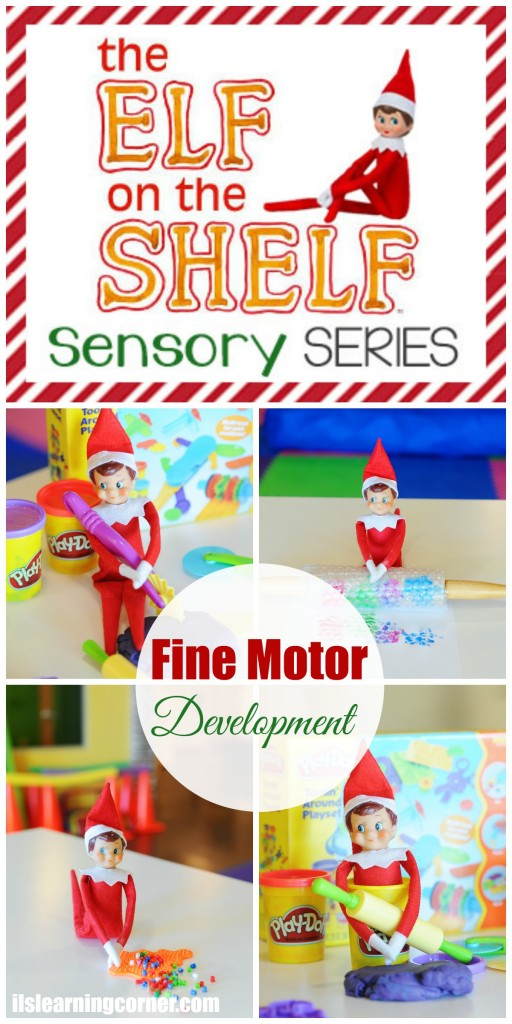 Elf on the Shelf Sensory Series: Helping Your Child's Handwriting and Fine Motor Skills | ilslearningcorner.com