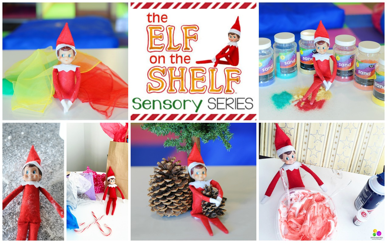 Elf On The Shelf Sensory Series: Touch and Tactile Activities
