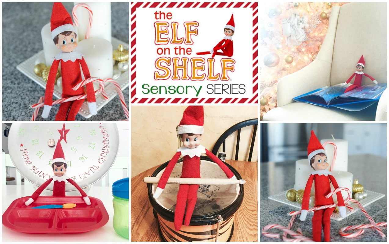 Elf on the Shelf: Sensory Taste, Smell and Sight Activities