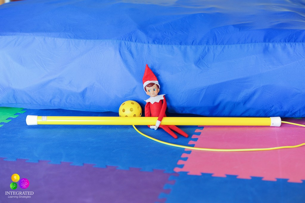 13 Gross Motor and Midline Elf on the Shelf Activities | ilslearningcorner.com